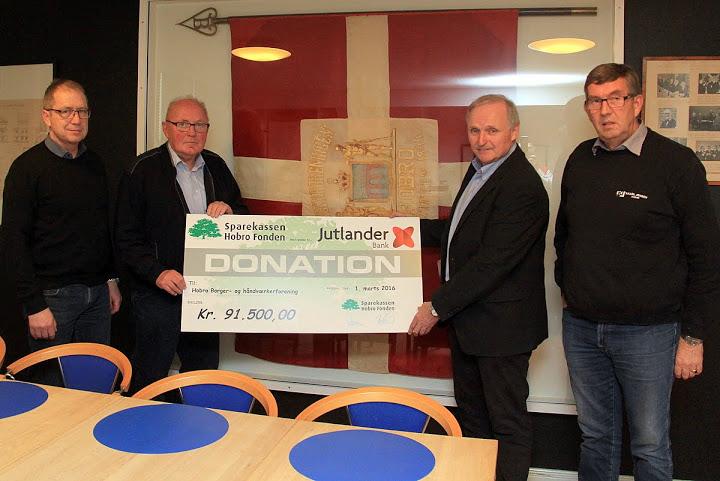 Donation til Hobro Borger- og håndværkerforening