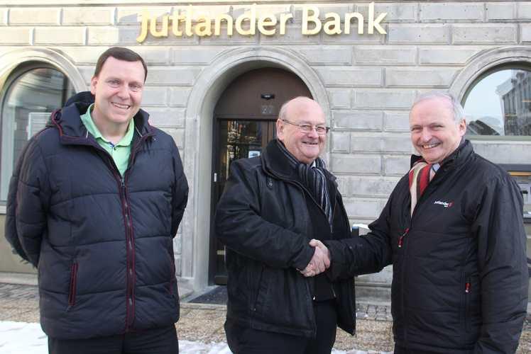 Formandsskifte - Per Olsen, Henning Sørensen og Poul Søndberg